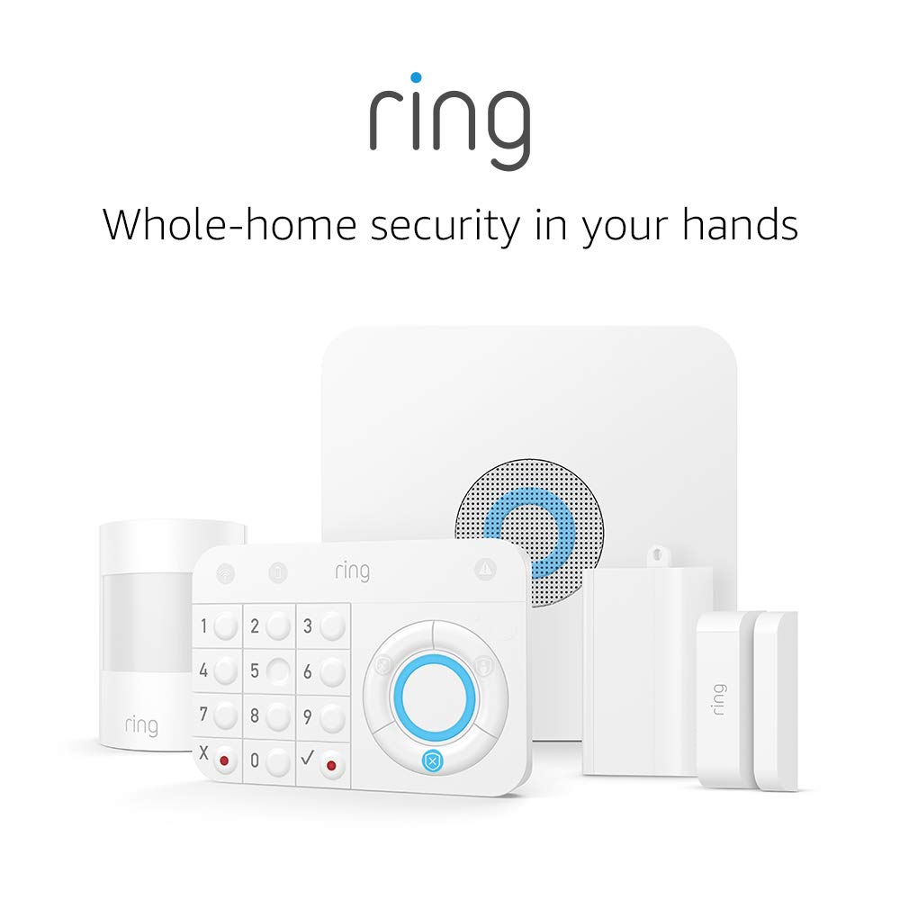 ring 5 piece system with base and alarm