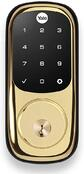 yale touch screen and lock