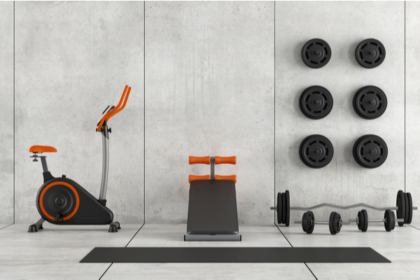 Vacation Rental Home Gym