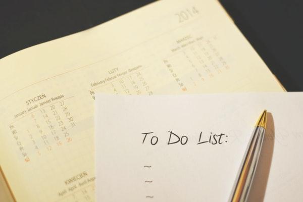 to do list and calendar