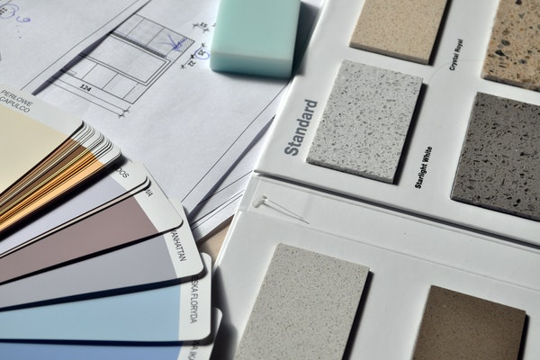 colors and materials for renovations