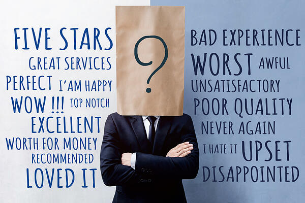 How to evaluate online reviews