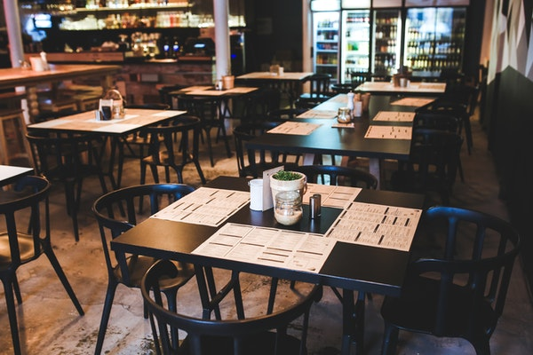 tables with menus